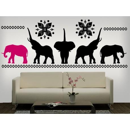 vinilo decorativo Elefante Motivo II