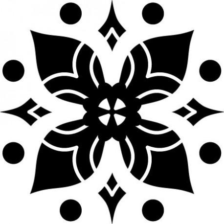 adhesivo decorativo Tribal Motivo IX