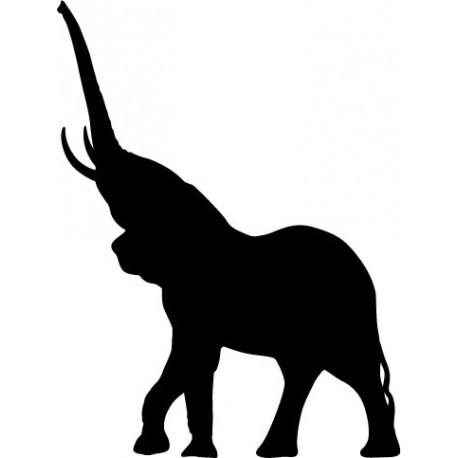 Elefante Motivo III imagen vinilo decorativo
