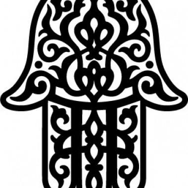 vinilos imagen producto Mano Tribal I