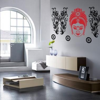 vinilo decorativo Mujer Hindú