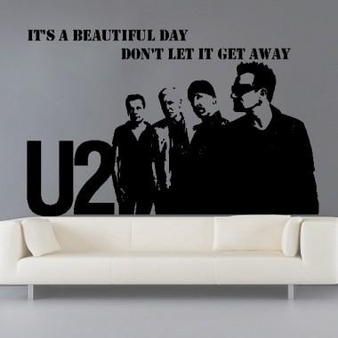 Vinilo U2 Decoración imagen vista previa