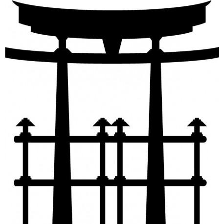 Pagoda Oriental I producto vinilos
