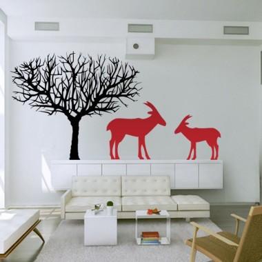 Antílope Motivo imagen vinilo decorativo