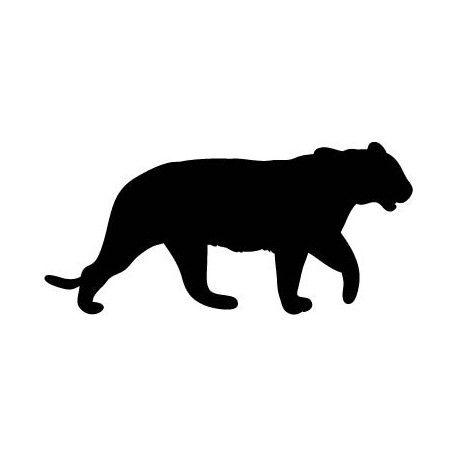 pegatina decorativa Tigre Motivo