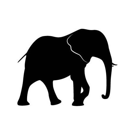 pegatina pared Elefante Motivo V