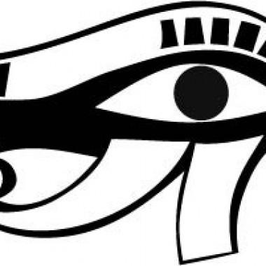 vinilo decorativo Ojo Osiris Egipcio