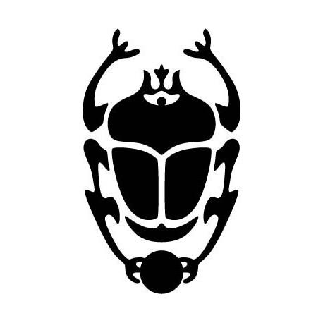 vinilos imagen producto Escarabajo Egipcio I