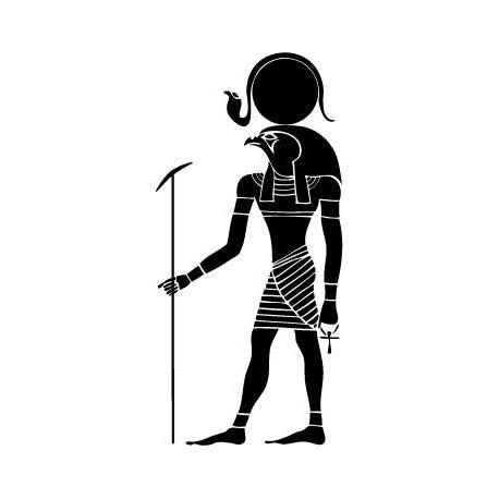 Guerrero Egipcio I decoración con vinilo