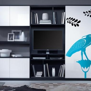 Pájaro Egipcio decoración con vinilo