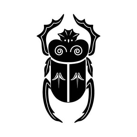 adhesivo decorativo Escarabajo Egipcio II
