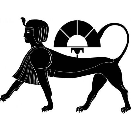 vinilo decorativo Esfinge Egipcia II