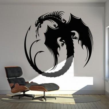Dragón Motivo I decoración con vinilo