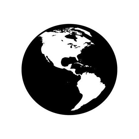 vinilo decorativo Planeta Tierra