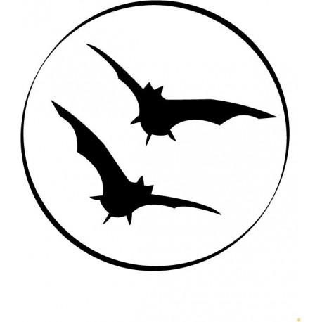 Murciélagos Luna producto vinilos