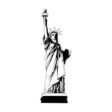 pegatina pared Estatua de la Libertad I