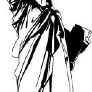 adhesivo decorativo Estatua de la Libertad I