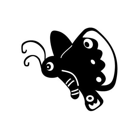 Mariposa Infantil adhesivo decorativo ambiente