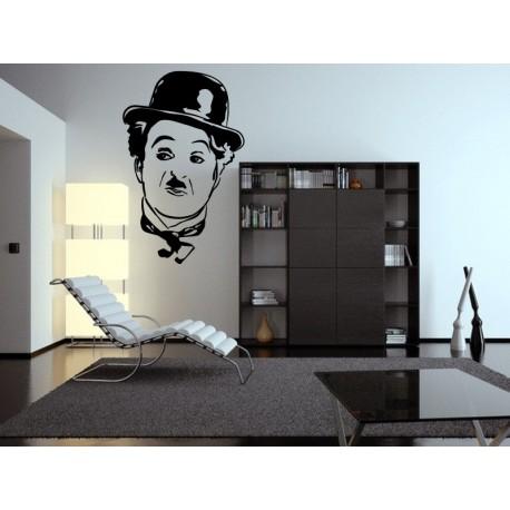 Charles Chaplin Motivo imagen vinilo decorativo