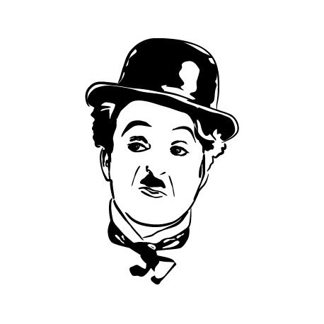 Charles Chaplin Motivo imagen vista previa