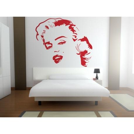 Marilyn Monroe Motivo I decoración con vinilo