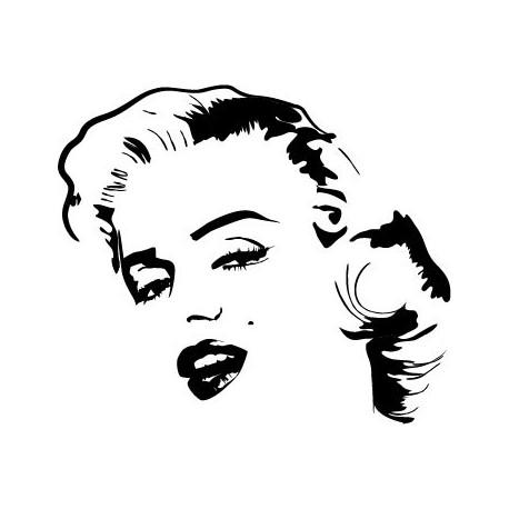 Marilyn Monroe Motivo I producto vinilos