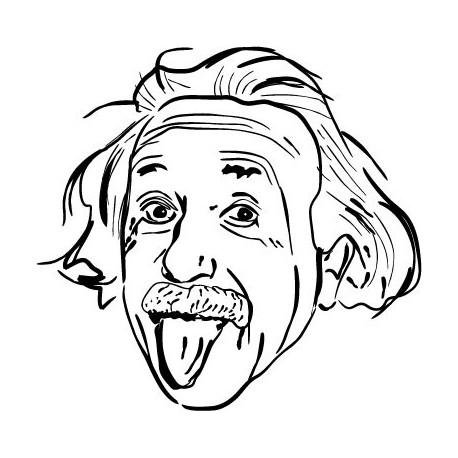 vinilos imagen producto Einstein Motivo