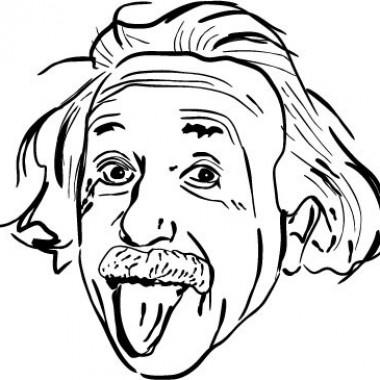 pegatina decorativa Einstein Motivo