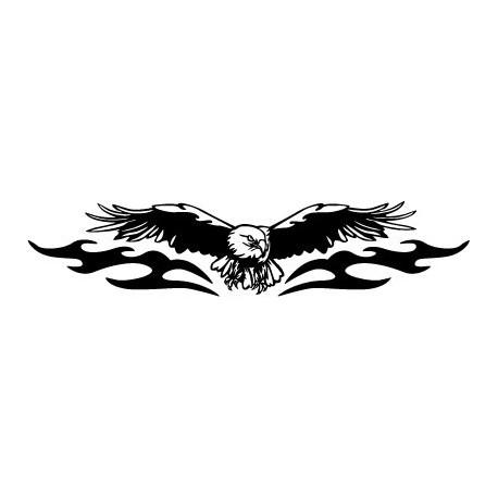 pegatina pared Águila Motivo I