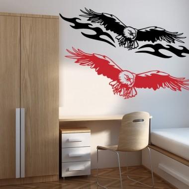 Águila Motivo II adhesivo decorativo ambiente