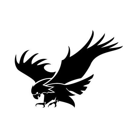vinilo decorativo Águila Motivo III