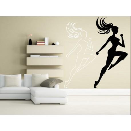 Aerobic Motivo I imagen vinilo decorativo