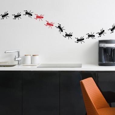 Hormigas Motivo I adhesivo decorativo ambiente