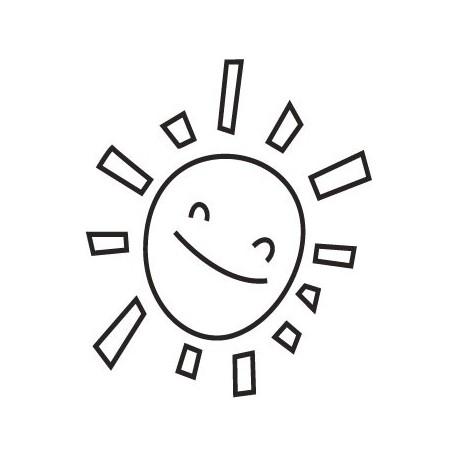 adhesivo decorativo Sol Sonrisa