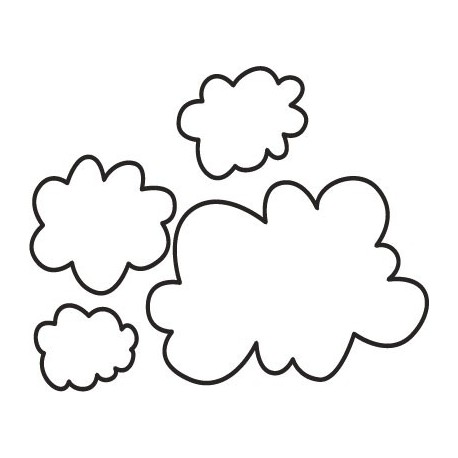 vinilos imagen producto Nube Motivo III