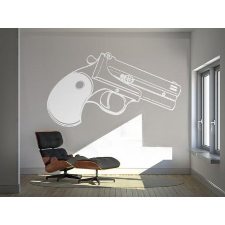 Pistola Motivo adhesivo decorativo ambiente