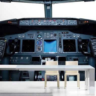 fotomural Fotomural Cabina Avión