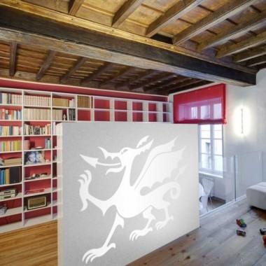 vinilo decorativo Dragón Motivo II