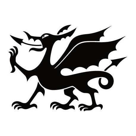 pegatina decorativa Dragón Motivo II
