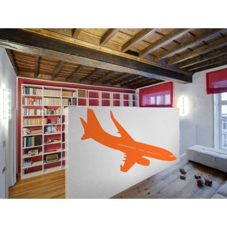 pegatina decorativa Avión Motivo I