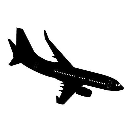 vinilos imagen producto Avión Motivo I