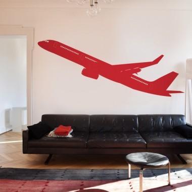 pegatina pared Avión Motivo II