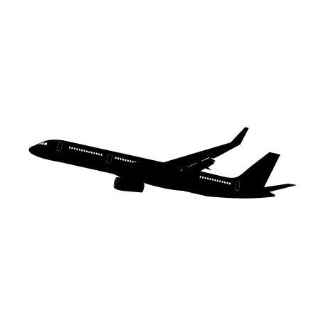 Avión Motivo II imagen vinilo decorativo