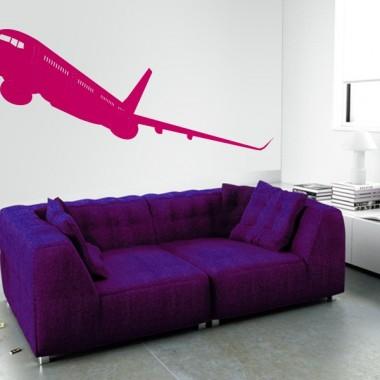 Avión Motivo III adhesivo decorativo ambiente