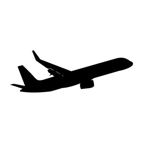 pegatina decorativa Avión Motivo IV