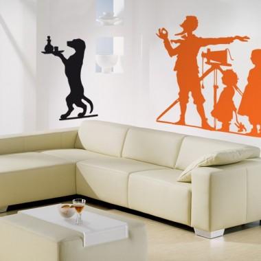 pegatina decorativa Fotógrafo Niños