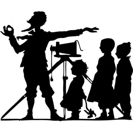 vinilo decorativo Fotógrafo Niños
