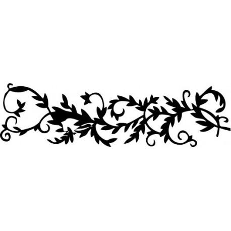 adhesivo decorativo Orla Floral II