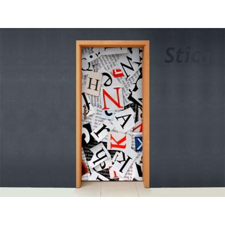 Vinilo letras para puerta - Letras vinilo pared ...
