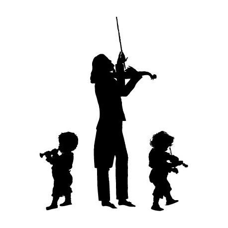 vinilos imagen producto Niños Violin
